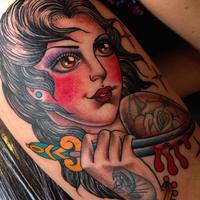 Photo taken at RedINC Tattoo & Body Piercing by RedINC Tattoo & Body Piercing on 9/15/2014