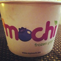 Photo taken at Mochi Frozen Yogurt by Adil D. on 5/3/2013
