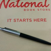Photo taken at National Book Store by Ian C. on 9/24/2016