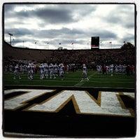 Photo taken at Vanderbilt Stadium - Dudley Field by Vasha H. on 10/20/2012