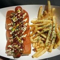 Photo taken at Dogzilla Hot Dogs Truck by Anthony B. on 6/26/2013