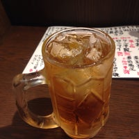 Photo taken at 四文屋 椎名町店 by trickstar on 9/29/2014