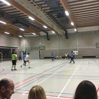 Photo taken at Sporthal Steenberg by Jolien E. on 9/2/2016