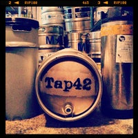 Photo taken at Tap 42 Bar & Kitchen by Lauren B. on 1/23/2013