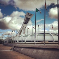 Photo taken at Olympic Stadium by Sarmad A. on 9/20/2012