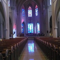 Photo taken at Saint Cecilia Church by Daniel Z. on 6/28/2014