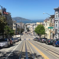 Photo taken at Russian Hill by Tugba D. on 4/28/2016