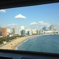 Photo taken at Westin Chosun Busan by JungYoon h. on 12/8/2012