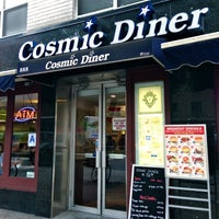 Photo taken at Cosmic Diner by The Corcoran Group on 7/29/2013