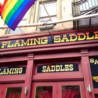 Photo taken at Flaming Saddles Saloon by The Corcoran Group on 7/29/2013