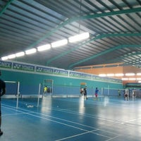 Photo taken at Pro One Badminton Centre by Mohd H. on 10/11/2016