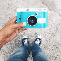 Photo taken at Lomography Gallery Store Taipei by Jeansman L. on 7/9/2015