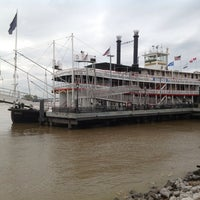 Photo taken at Steamboat Natchez by Irina A. on 5/11/2013