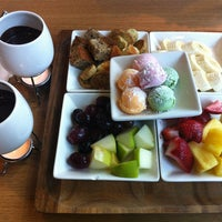 Photo taken at Capstone Tea & Fondue by Walailuck C. on 4/10/2013