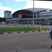 Photo taken at Boryspil International Airport (KBP) by Anton P. on 9/16/2012