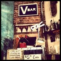 Photo taken at Vbar by Amanda A. on 11/23/2012