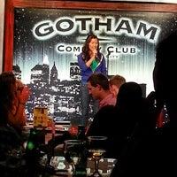 Photo taken at Gotham Comedy Club by Matt S. on 6/19/2013