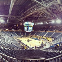 Photo taken at Crisler Center by Joshua R. on 3/10/2013