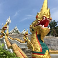 Photo taken at Wat Kaew Korawaram by Amanda O. on 4/12/2015