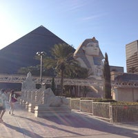 Photo taken at Luxor Hotel & Casino by Darcie L. on 3/5/2013