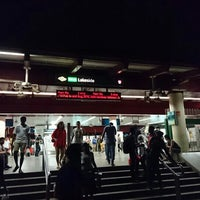 Photo taken at Lakeside MRT Station (EW26) by Vincent L. on 4/3/2016