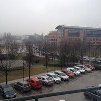 Photo taken at Infopark - G épület - Magyar Telekom by Cati M. on 2/15/2016