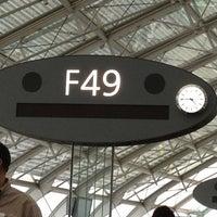 Photo taken at Gate F49 by Fabiano Rodrigo T. on 10/6/2012
