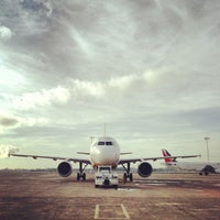 Photo taken at Mactan-Cebu International Airport (CEB) by Estan l. on 5/2/2013
