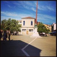 Photo taken at Campo Santa Margherita by Sarah O. on 7/18/2013