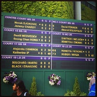 Photo taken at Centre Court by Sarah O. on 6/29/2013