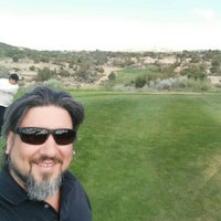 Photo taken at Pinon Hills Golf Course - PRCA by GiovanniCLT on 5/26/2016