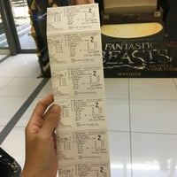 Photo taken at Golden Screen Cinemas (GSC) by Nadzifah Y. on 11/19/2016