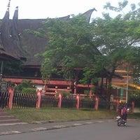 Photo taken at Anjungan Sumatera Utara by Reza M. on 7/30/2013