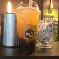 Photo taken at Tea Leaf Cafe by Lindsey W. on 6/3/2013