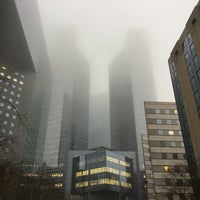 Photo taken at Société Générale Twin Towers by Dany T. on 1/2/2017