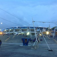 Photo taken at Stadium Nasional Bukit Jalil Car Park by Jafri M. on 4/6/2013
