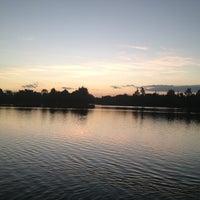 Photo taken at Laguna de San Baltazar by Manuel E. on 12/21/2012
