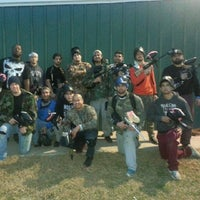 Photo taken at Official Paintball by Dominic P. on 1/4/2014