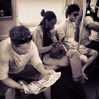 Photo taken at MTA Subway - N Train by Lee A. on 8/25/2013