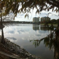 Photo taken at Cranes Roost Park by Jarrod M. on 1/13/2013