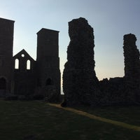 Photo taken at Reculver Towers and Roman Fort by Roman L. on 7/23/2016