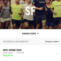 Photo taken at Niketown SF Run Club by Hakan O. on 9/6/2016