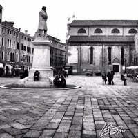 Photo taken at Campo San Stefano by Lorenzo B. on 12/15/2012