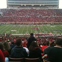 Photo taken at Jones AT&T Stadium by Haley C. on 9/15/2012