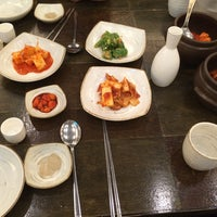Photo taken at 발산삼계탕 by po8orsky on 10/4/2016