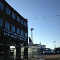 Photo taken at Katajanokan terminaali by Rasmus S. on 3/28/2013