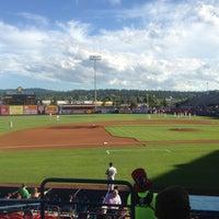 Photo taken at Avista Stadium by Stacy C. on 6/28/2013