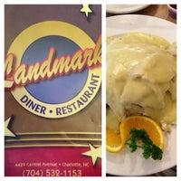 Photo taken at Landmark Diner by Nic M. on 8/4/2013