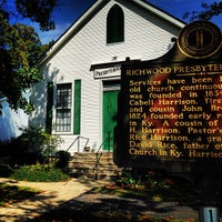 Photo taken at Richwood Presbyterian Church by Melissa 🐝 on 9/25/2013