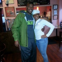 Photo taken at Sisters Carribean Cuisine by Darnell R. on 4/7/2014